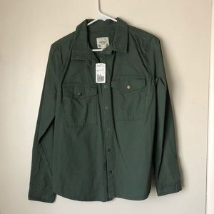 Forever 21 Women's Army Green Jacket